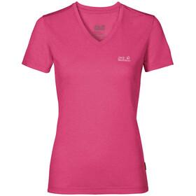Jack Wolfskin Crosstrail T-Shirt Women pink peony